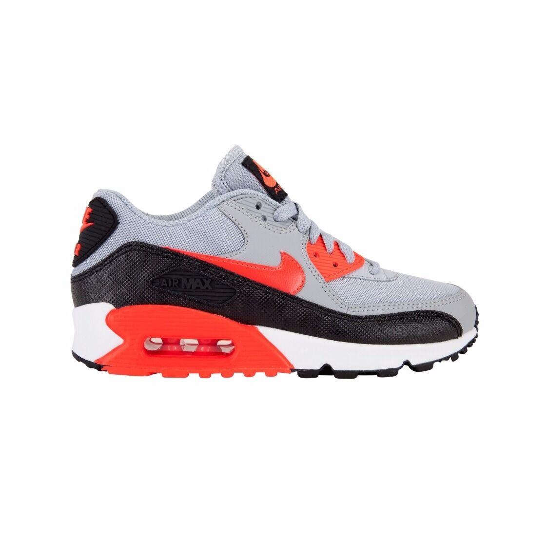 NIKE Damenschuhe AIR MAX 90 ESSENTIAL WOLF GREY RUNNING  TRAINERS Schuhe GYM  RUNNING /- 391720