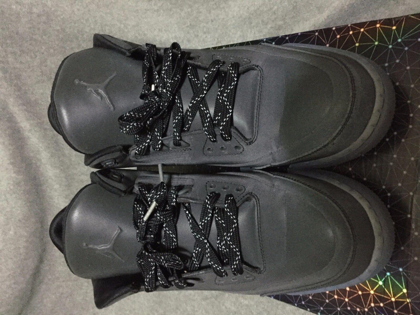 Nike Air Jordan Retro III 5LAB3 V Black/Black/Clear Size 10.5 3M 3M 10.5 6db3b9