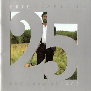 ERIC-CLAPTON-1988-CROSSROADS-U-S-TOUR-CONCERT-PROGRAM-BOOK-EXCELL-2-NEAR-MINT