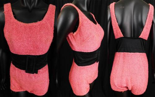 Vintage Jantzen Bubblegum Pink Boucle Wool Knit Bl