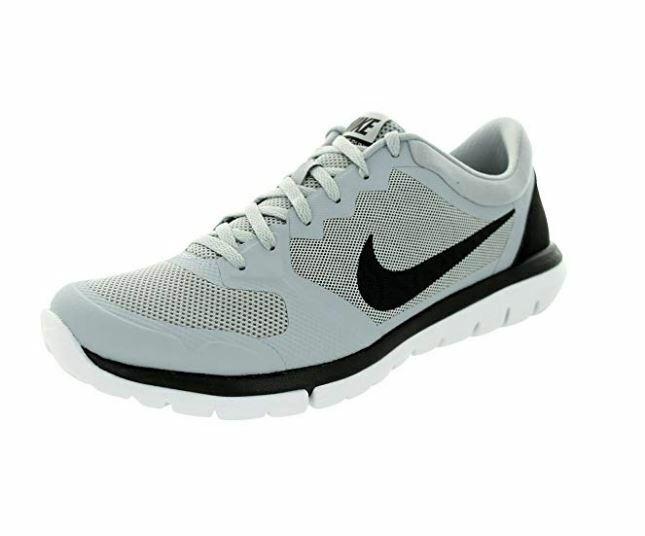 Nike Flex Run 2015 Running shoes Wolf Grey Black-White 709022 005