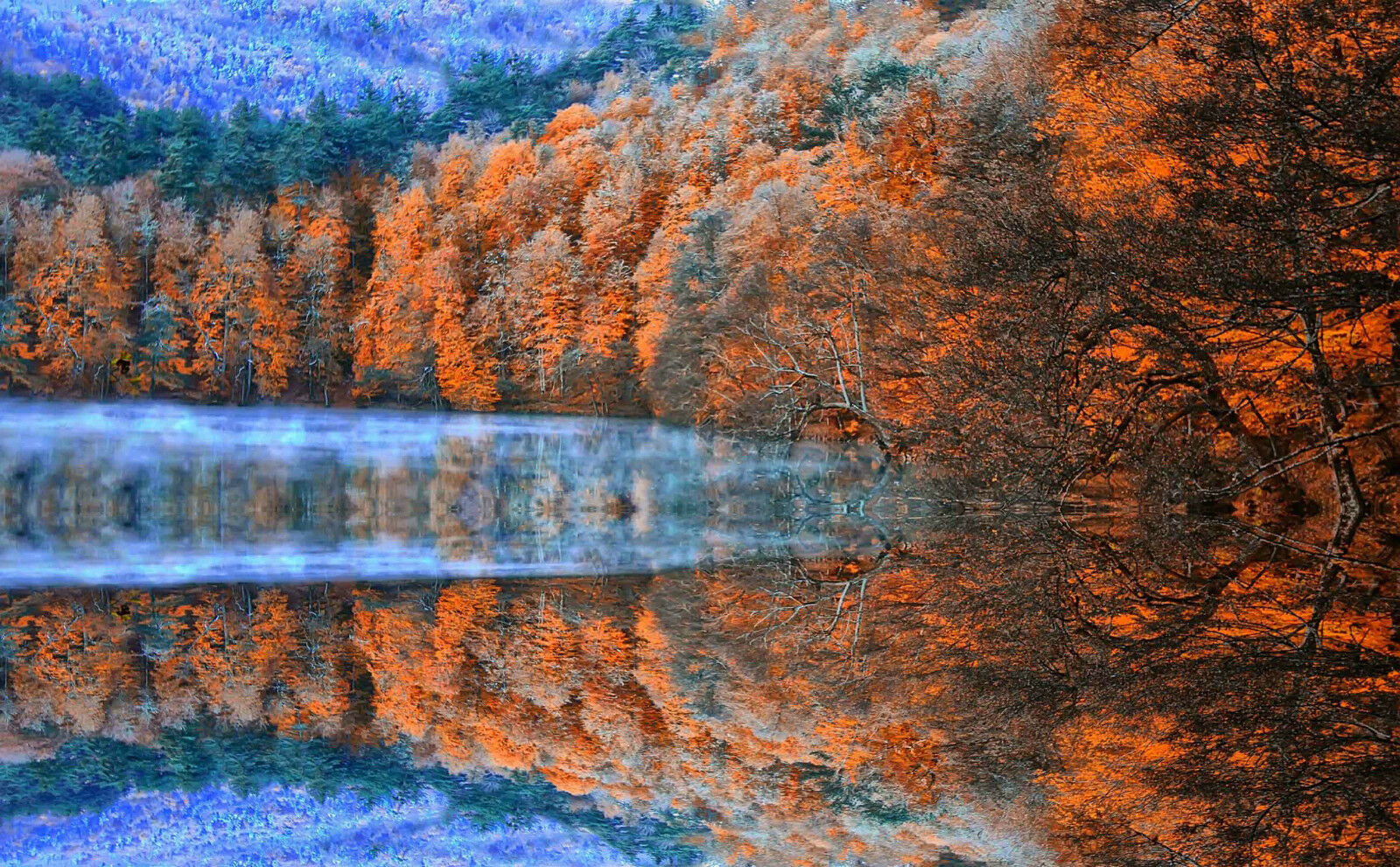 3D Lac Forêt Montagnes 345 Décor Mural FR Murale De Mur De Cuisine AJ WALLPAPER FR Mural 806a64