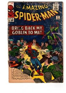 The-AMAZING-SPIDER-MAN-27-034-1965-034-The-5th-App-of-GREEN-GOBLIN-Marvel-Comic