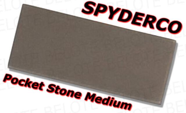 305M1 No Pouch Spyderco Pocket Medium Stone