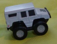 GM Suntory Boss Coffee Hummer H1 in Gray 1/72 Pull Back Collectible Penny Racer