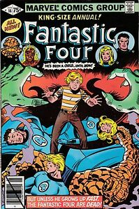 marvel comics fantastic four 14 annual 1979 franklin richards