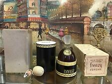 Vintage 1946 Frenzy Corday Perfumes Eau De Toilette *Extremely Rare* New Sealed