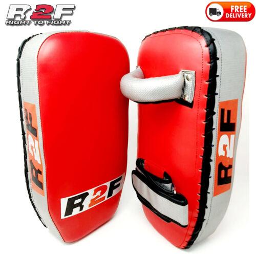 Pu Leather Rectangle Strike Punching Kicking Pads Arm Shield Target Fr Boxing