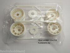 New! Tamiya Honda City Turbo White Wheels - F Part - New From Kit 58611 9005127