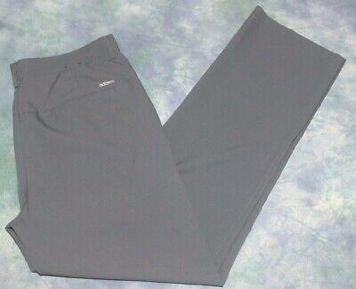 desagradable Superioridad Para aumentar  Adidas Adizero Gris para hombre Flat Front Golf pantalones tamaño 34 X 32 RN #88387 CA#40312 | eBay