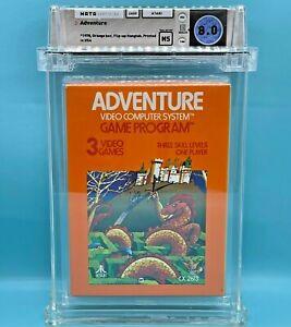 ADVENTURE  - WATA 8.0  ** Atari 2600  **  NEW / SEALED - ULTRA RARE ORANGE  BOX
