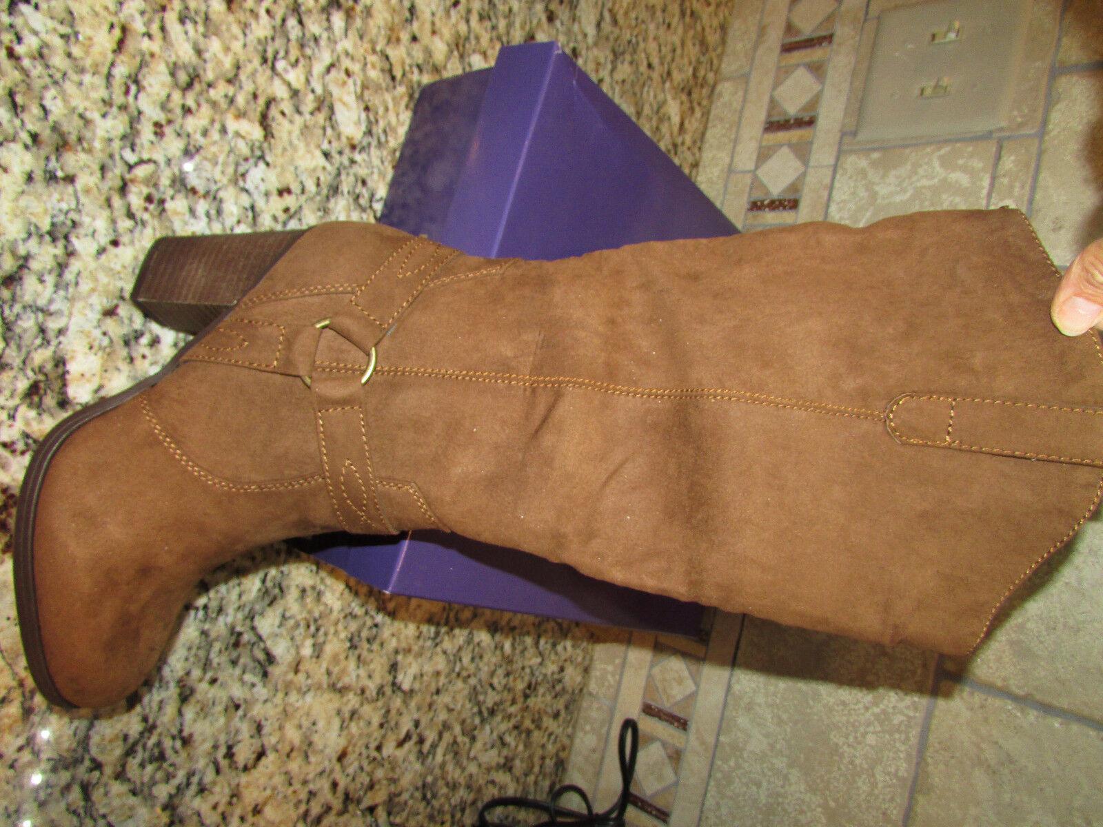 Nuevas botas de alto Madden Girl Bombardier Castaño para para para Mujer 9 rodilla Hig Cognac  echa un vistazo a los más baratos