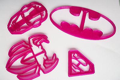 Superman Thor Spiderman Hulk Iron man batman Cutter fondant cake cookie