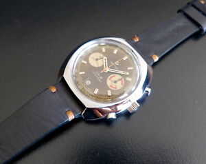 CERTINA-CHRONOLYMPIC-8601-30-DS-2-VALJOUX-23-232-CHOCOLATE-DIAL-SERVICED