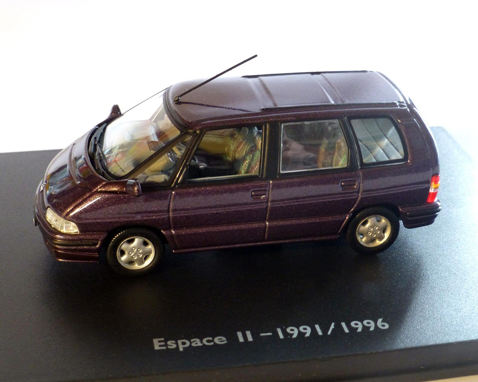 Renault Espace II, Purple-Metallic, Uh 1 43