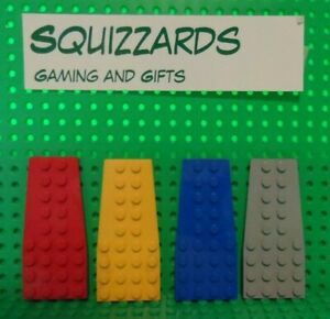 Lego Wedge Plate 3 x 4 with Stud Notches Parts Pieces Lot ALL COLORS
