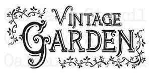 Image Is Loading Garden STENCIL Vintage Garden 12x24 For Painting Signs
