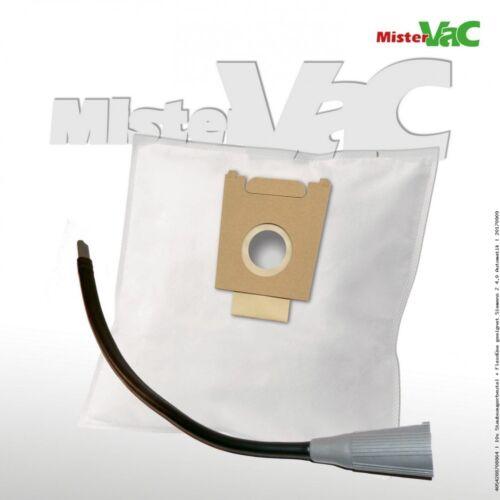 10x Staubsaugerbeutel Flexdüse geeignet Siemens VS06G2510//02-03 bag /& bagless