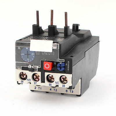 Brand new T16DM 3 Pole 4A-6A Current Range Motor Thermal Overload Relay 1NO 1NC