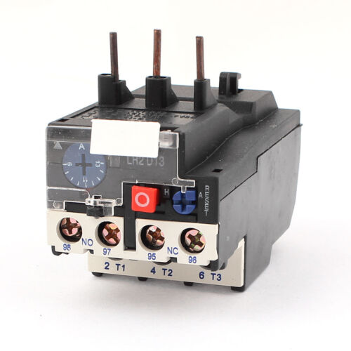 JR28-25 1NO 1NC 3 Phases Adjustable Motor Protector Thermal Overload Relay 13A