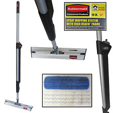"""Rubbermaid Commercial Products Ergo Reach Pulse 1887488 Flat Mop Kit 18"""""""