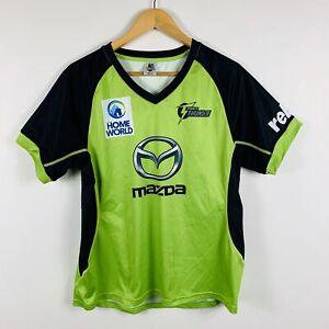 Majestic-Womens-Sydney-Thunder-BBL-Cricket-Shirt-Size-16-Official-Merchandise