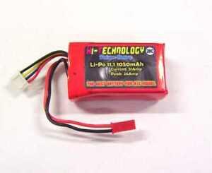 Batteria-Battery-LiPo-for-11-1v-3S-1050mAh-a-3-celle-20-RC-Model-softair-fly