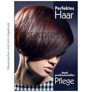 Werbeplakat Plakat Weihnachten Frisurenposter für Salondekoration