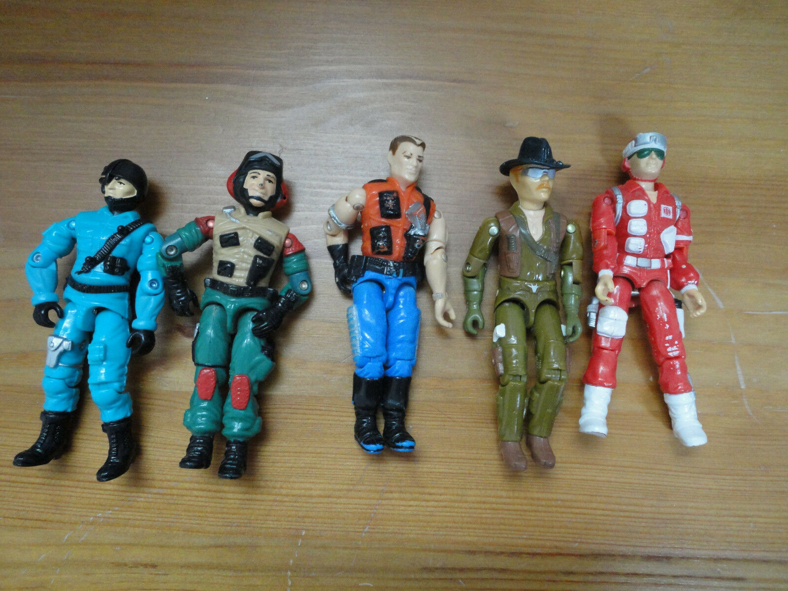 GI Joe Action Figures Mixed Lot 5 Hasbro 3.5 inch Assorted Characters Mixed R