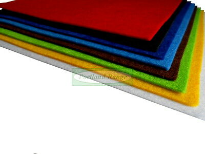A4 sized craft felt - single sheet or assorted multi-colour pack