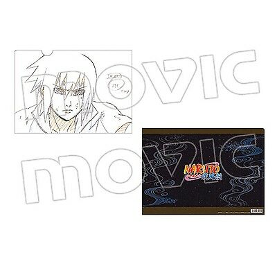 Rare!!! Movic Naruto Shippuden -Genga- Clear File Folder SASUKE