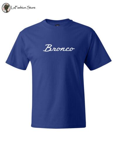 Ford Bronco Classic Car Vintage Logo T shirts S-5XL
