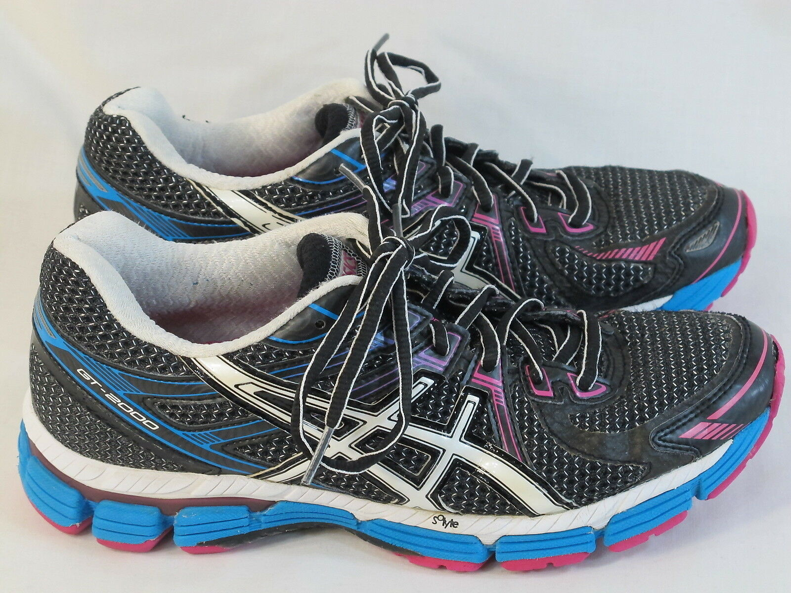 ASICS GT 2000 Running Shoes Women's Size 8 US Excellent Plus Condition