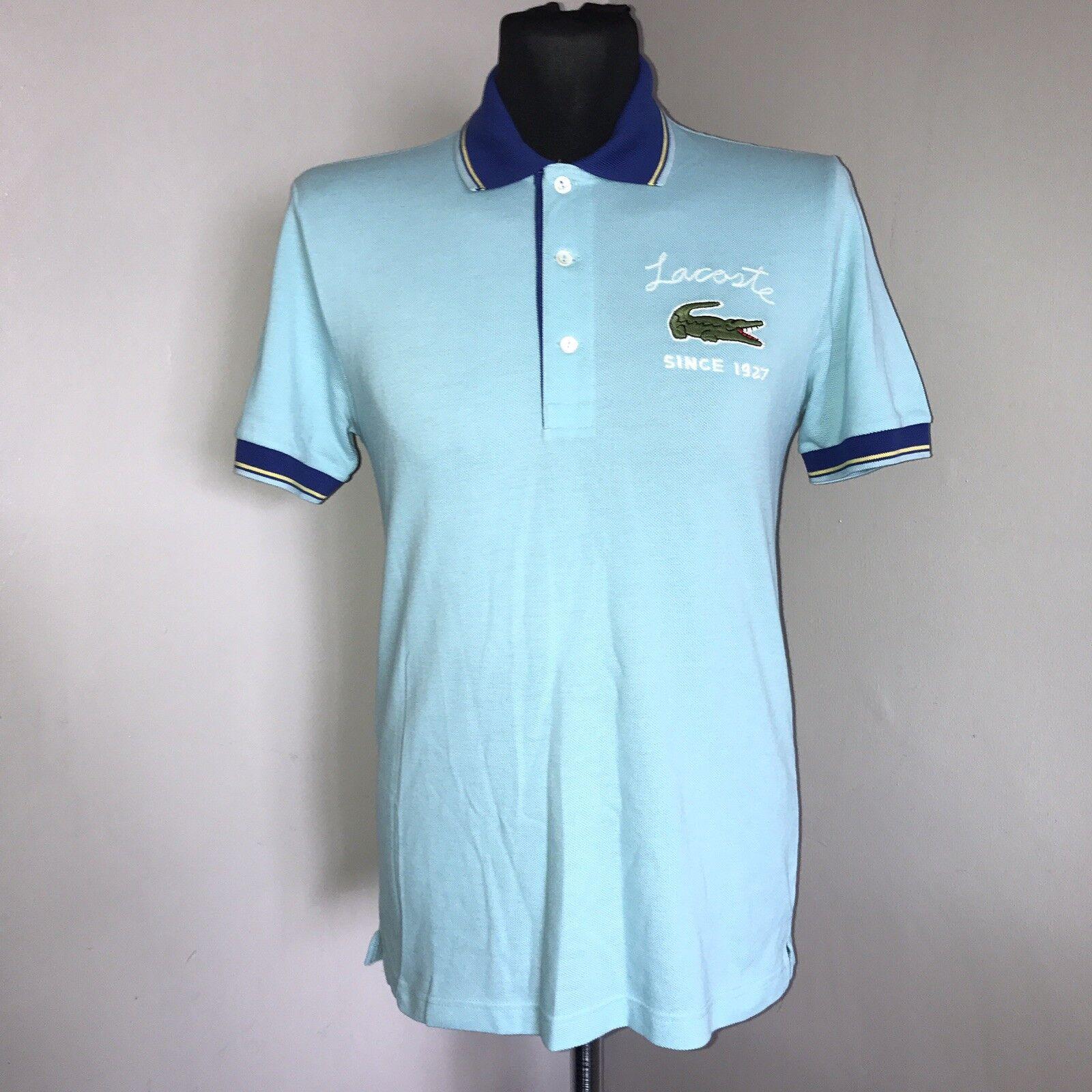 Xs Polo Couleur Taille Lacoste Bleu 2 Cielturquoise 7f7Fqxw