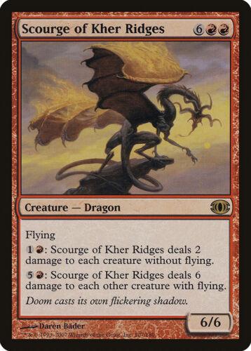 Scourge of Kher Ridges Future Sight HEAVILY PLD Red Rare MAGIC MTG CARD ABUGames