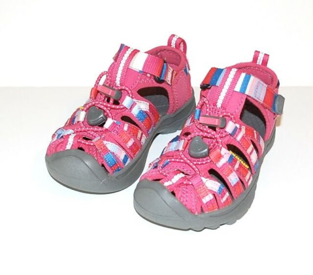 7e761a2848f1 Keen Whisper Sandals Raya Honeysuckle New Stripe Shoes Toddler