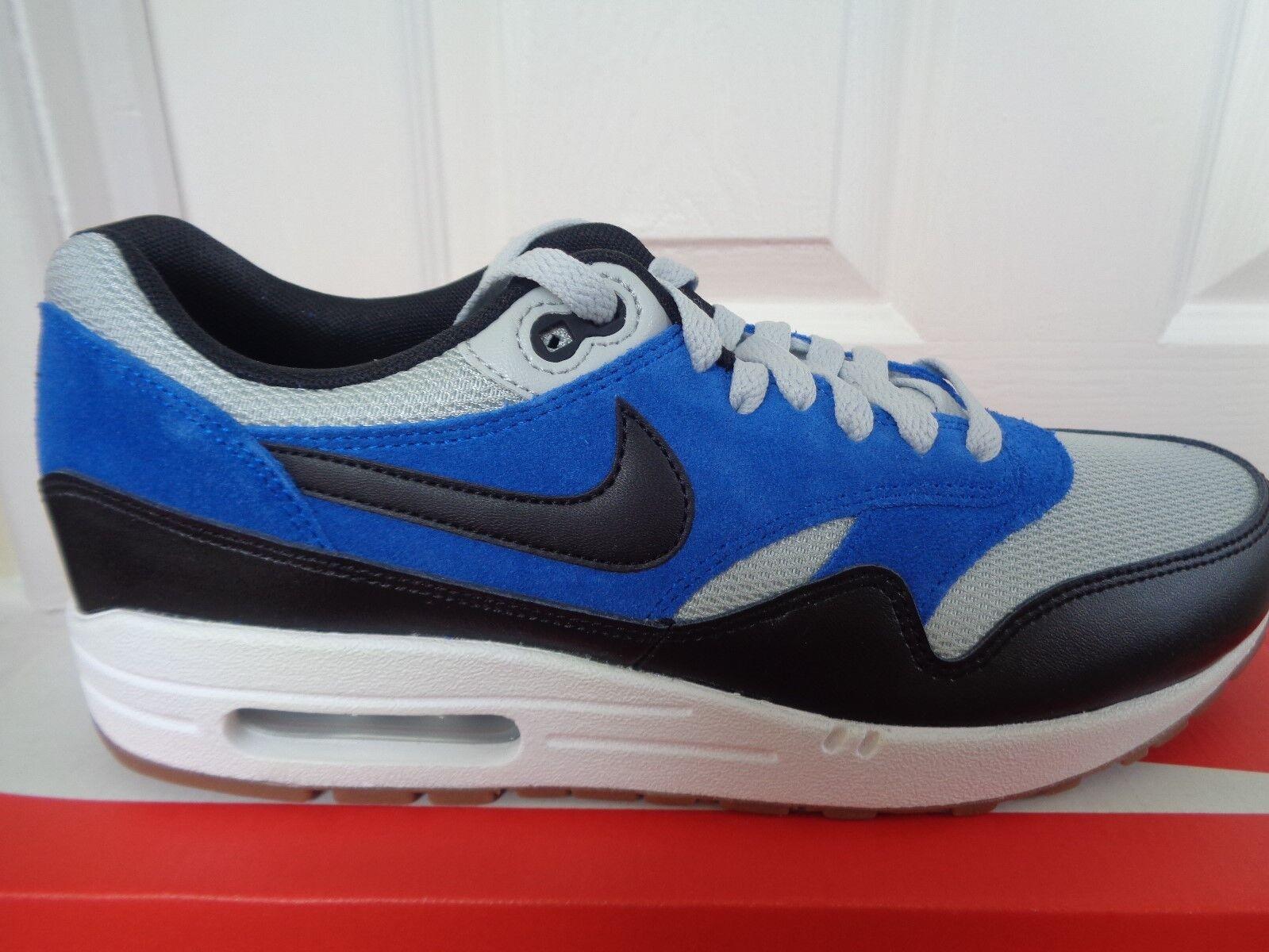 Nike trainers Air Max 1 essential trainers Nike schuhe 537383 022 uk 8 eu 42.5 us 9 NEW+BOX 47735b