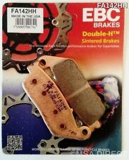 Yamaha WR125R / X (2009 to 2016) EBC Sintered FRONT Brake Pads (FA142HH) (1 Set)