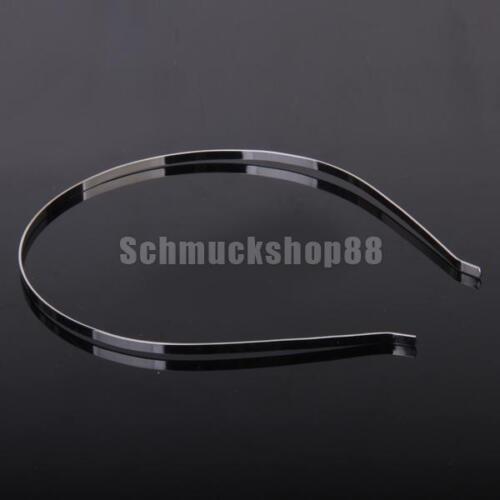 10 x 3 mm Stirnbänder Metall Haarband Haarreif Haarband Haarschmuck DIY Zubehör