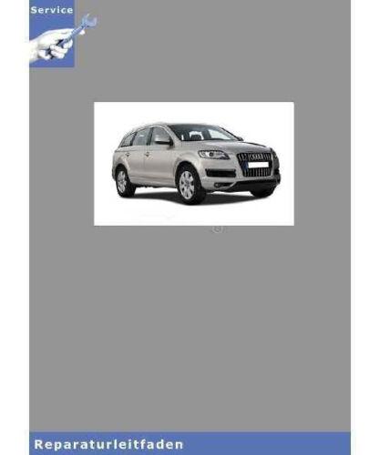 Karosserie- Montagearbeiten Außen 05/> Reparaturleitfaden Audi Q7 4L