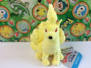 Pokemon-Center-Plush-Ninetales-Pokedoll-stuffed-Sitting-Cuties-Pocket-FIT-New