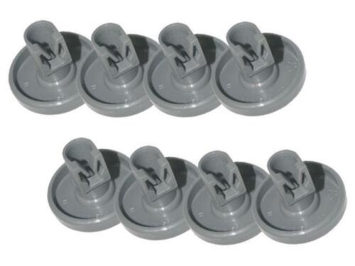 8X Dishwasher Lower Basket Wheels For Electrolux ESL64041 ESL64085R ESL64602R