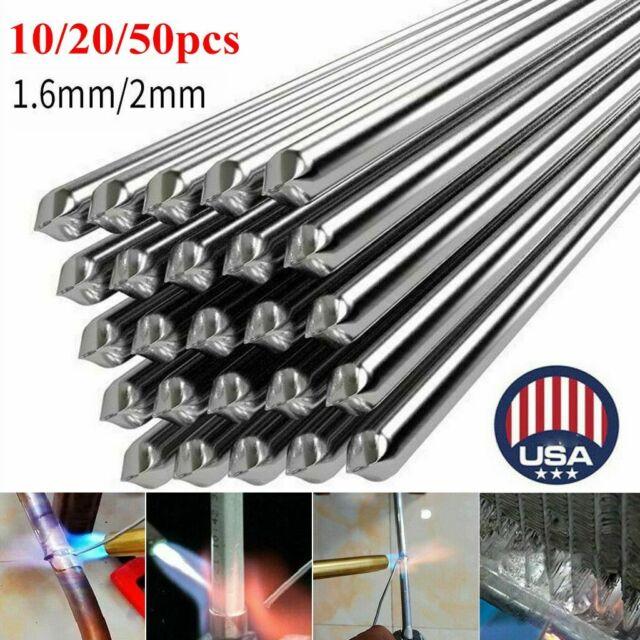 Parts 50x Durafix Aluminium Welding Rods Brazing Easy Soldering Low Temperature