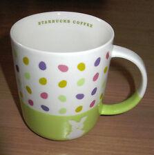 Starbucks Coffee Mug Easter Eggs Rabbit Bunny 2007 12 oz