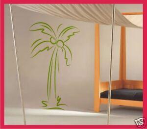 Das Bild Wird Geladen PALME Baum Wand Deko Wandsticker Wandtattoo V9 60cm