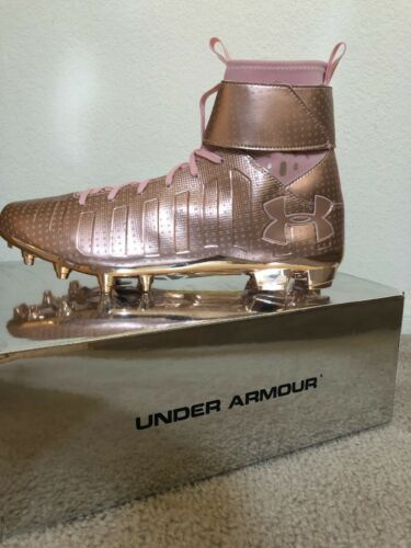 Under Armour Cam Newton C1N MC LE Football Cleats Rose Gold 1289764 900 Sz 13
