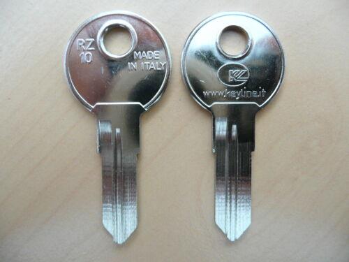 10 x Schlüssel Rohlinge Rohling RZ10 1858 RN11R RE-5D REN5R RENZ Serie ER 1-500
