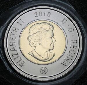 2010 - $2 / Toonie - Polar Bear - NBU ( PL ) - Sealed in original hard plastic