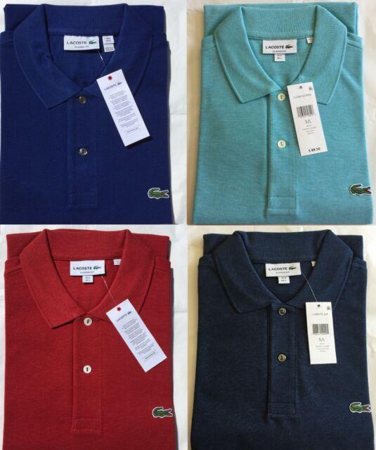 Joris Chine Yellow Lacoste L1264 Classic Fit Polo Shirt