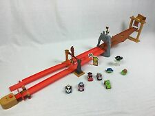 Angry Birds Go Telepods Pig Rock Raceway Set w/ 3 Extra Telepods* Free Shipping